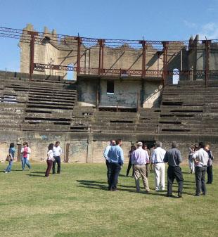 Reconstrucción Plaza de toros