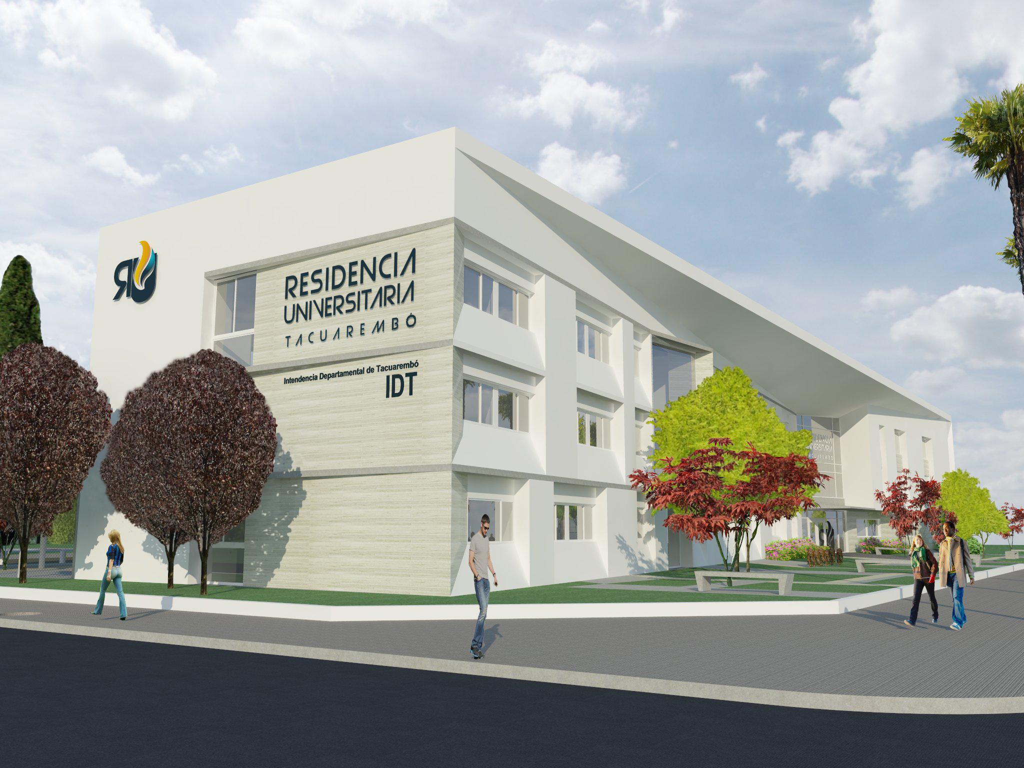 Proyecto residencia estudiantil de Tacuarembó, financiado por el PDGS II