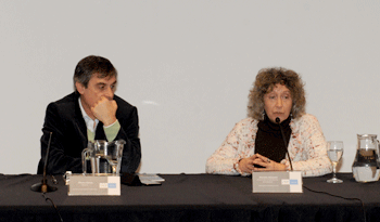 Álvaro García y Mariella Mazzotti     Fuente Presidencia