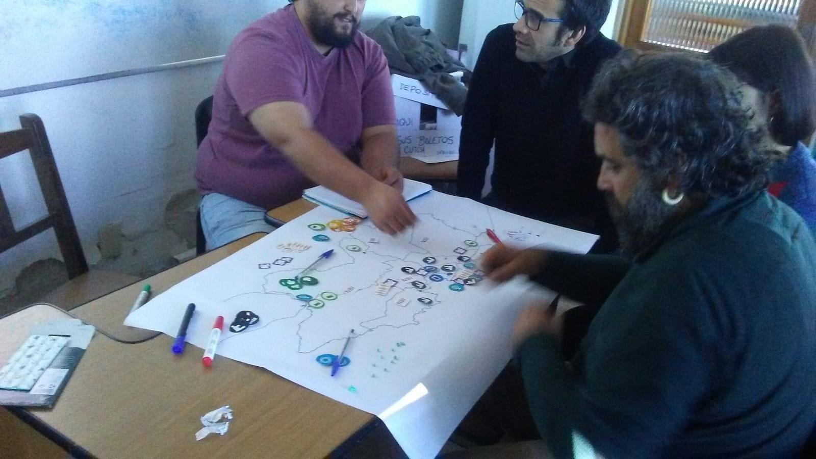 """Encuentro para la """"Construcción de una estrategia de desarrollo local"""""""
