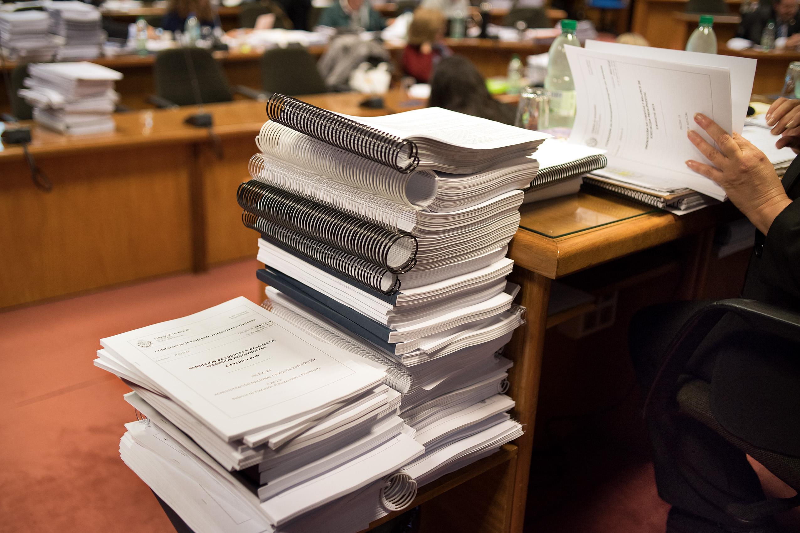 Documentos para la Rendición de Cuentas