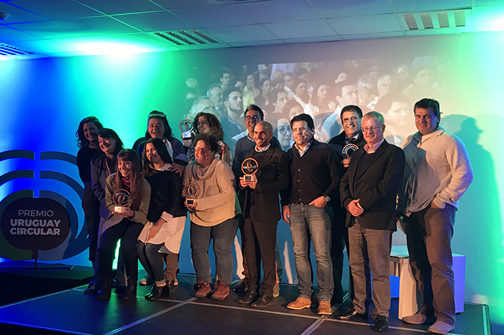 """Ganadores del premio """"Uruguay Circular. Hacia una nueva economía"""""""
