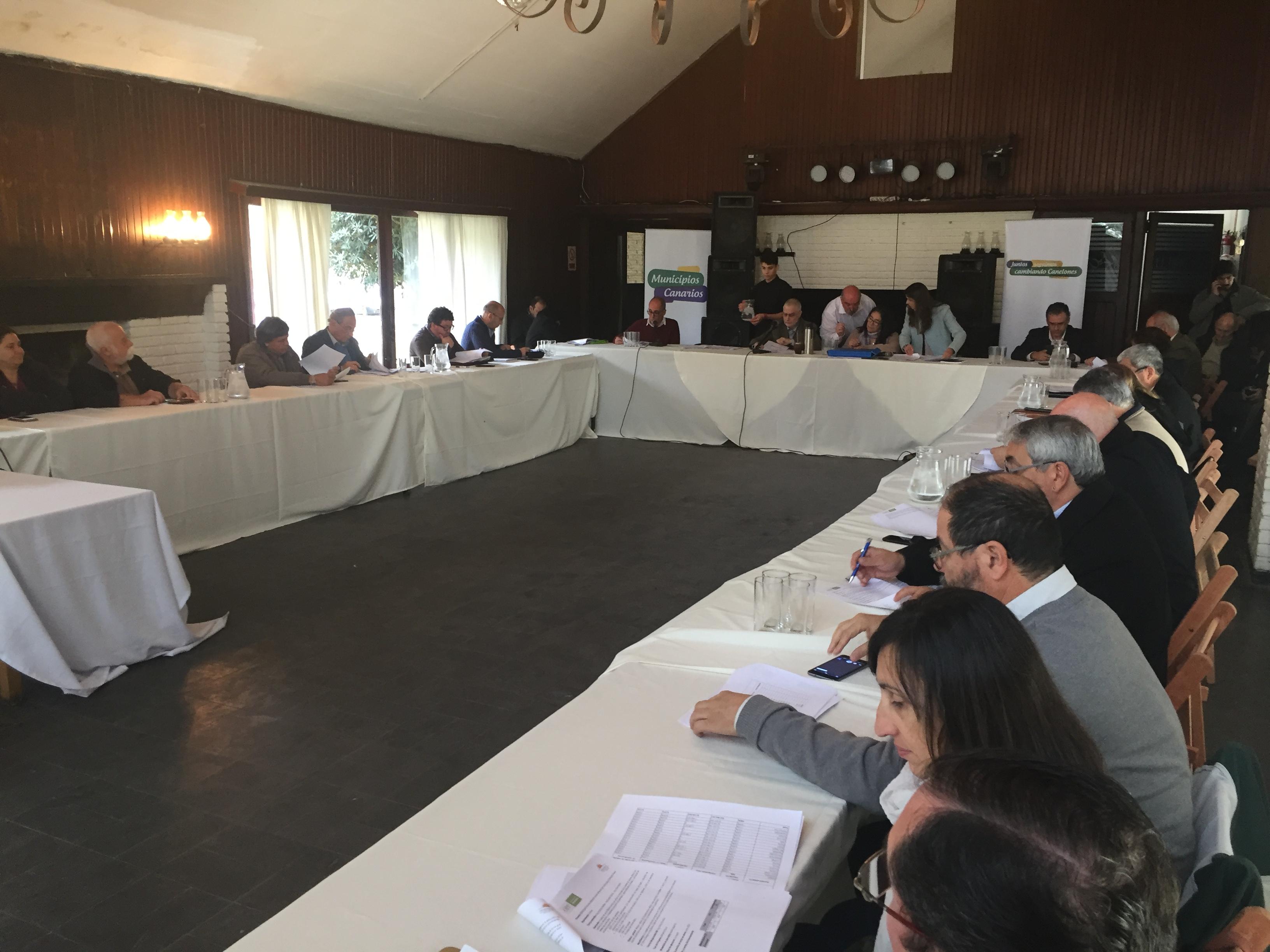Sesión de la Comisión Sectorial de Descentralización del jueves 6 en Solymar