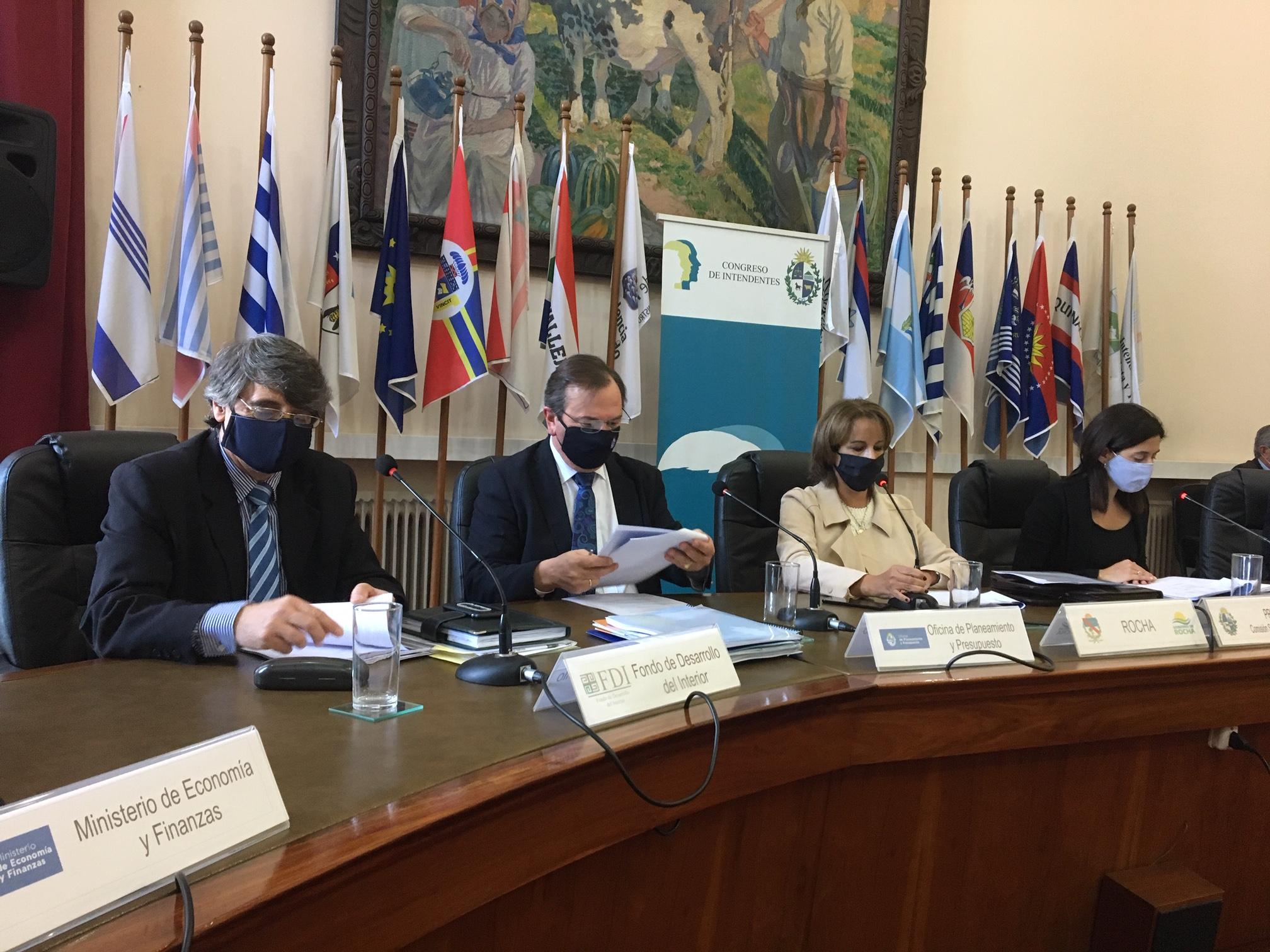 Sesión de la Comisión Sectorial de Descentralización del 14 de mayo